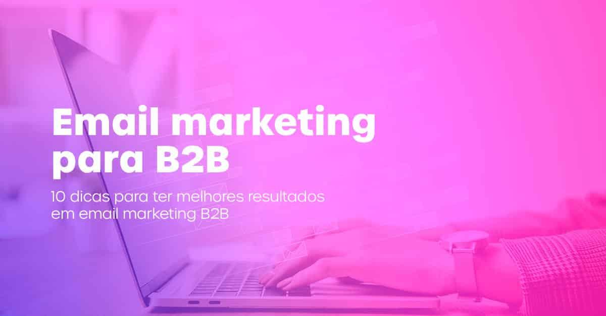 Artigo: Email marketing para B2B