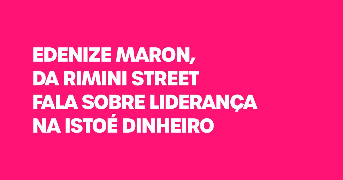 Rimini Street na Istoé